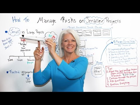 How to Manage Risks on Smaller Projects - Project Management Training