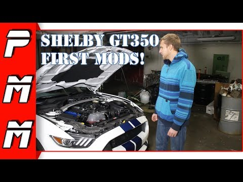 Mustang GT350 First Modifications!