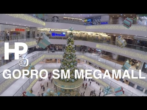 GoPRO SM Megamall Mega Fashion Hall Overview Walking Tour by HourPhilippines.com