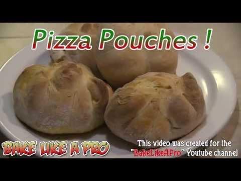 Pizza Pouches Recipe   Pizza Pockets Recipe