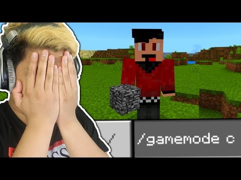 PLAYERS CHEATING IN MINECRAFT SURVIVAL!