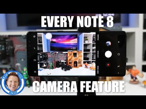 Every Galaxy Note 8 Camera Feature