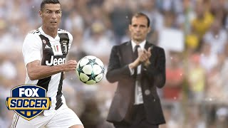 Juventus Manager Max Allegri on Ronaldo: 'He's shown extraordinary things to me.' | FOX SOCCER