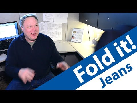 Fold it! Ep. Jeans