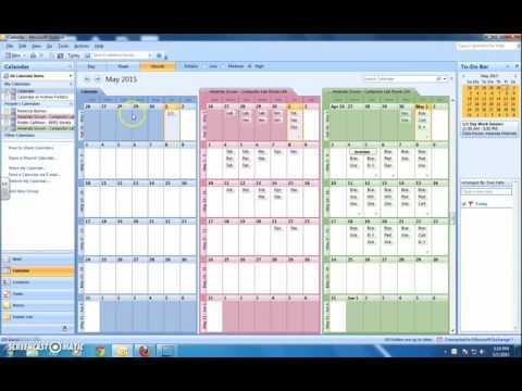 Adding an Event to a Shared Outlook Calendar