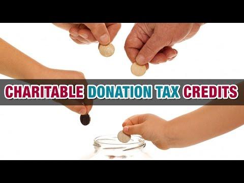 Charitable donation tax credits - Tax Tip Weekly