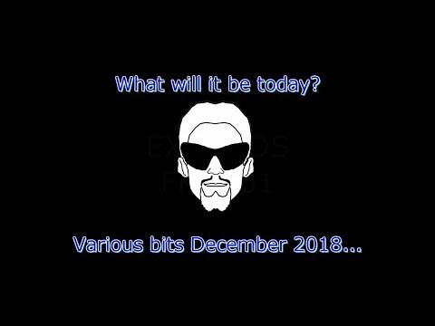 Various bits December 2018