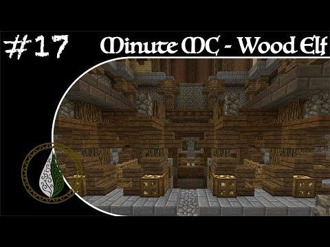 Minute Minecraft - Time Lapse - Wood Elvish Village - Ep.17