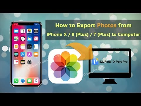 How to Export Photos from iPhone X / 8 (Plus) / 7 (Plus) to Computer