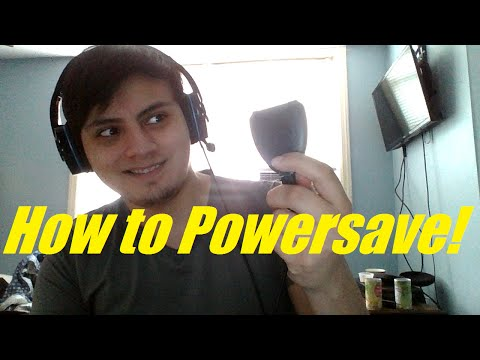 How to use Powersave for amateurs!