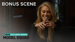"""Caroline Lowe Gets an Exciting Call About """"Sports Illustrated""""   Model Squad   E!"""