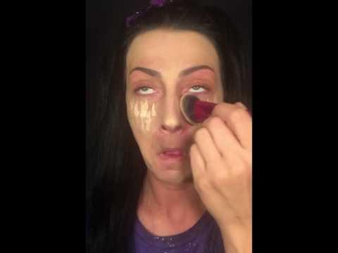 Pot Brownie/No mirror makeup challenge