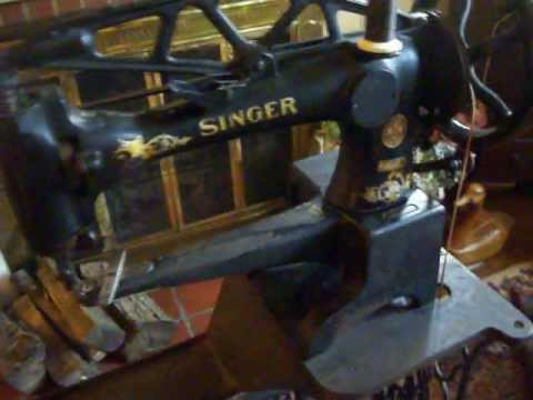1921 Singer 29-4 Industrial Cobbler's Sewing Machine FOR SALE!