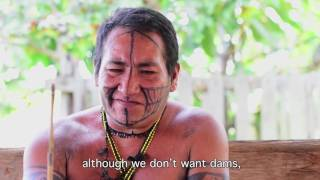 The end of a people   sacred site dynamited to build Amazon dam