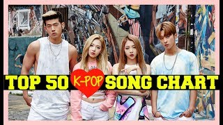 TOP 50 K POP SONGS CHART • JULY 2017 (WEEK 4)