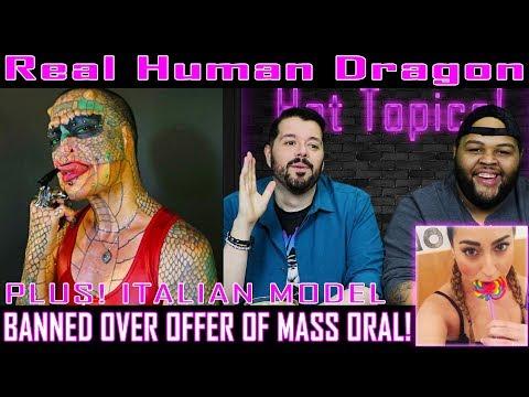 Human Dragon, Motorcycle Loving, Model Gets Banned! Hot Topics EP. 5