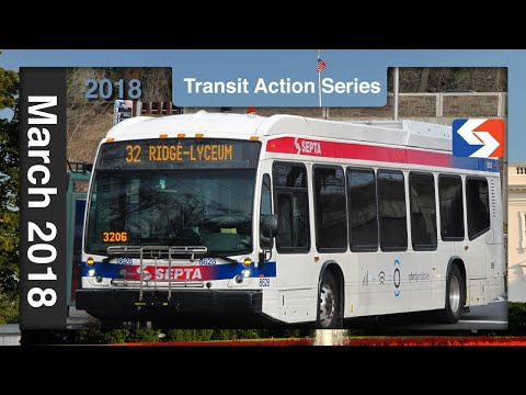 Just Bussin', Winter 2018 - SEPTA Action Series