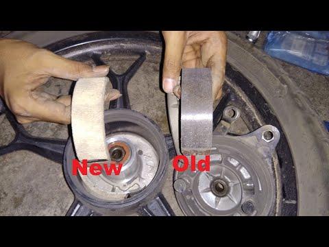 Brake shoe change