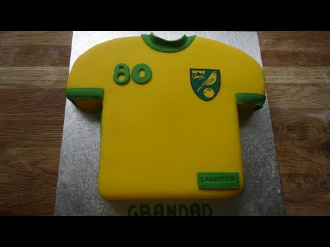 T-Shirt Cake (Football/Soccer) .... How to
