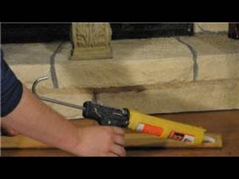 Trim & Molding : How to Apply Trim to the Floor Around a Brick Fireplace