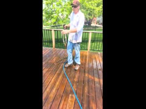 cedar deck restoration