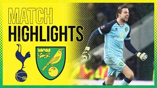 HIGHLIGHTS | Tottenham Hotspur 1-1 Norwich City AET (2-3 Pens) | Tim Krul's Penalty Shootout Heroics