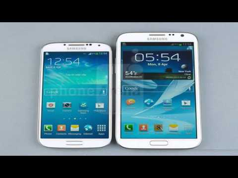 iPhone 5s vs Samsung Galaxy S4 - Hands-on