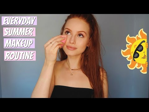 my go to summer makeup tutorial! | Madelaine Petsch