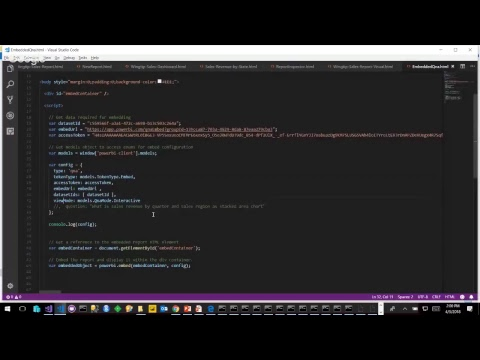 Developing with Power BI Embedding by Ted Pattison– The April 2018 Update