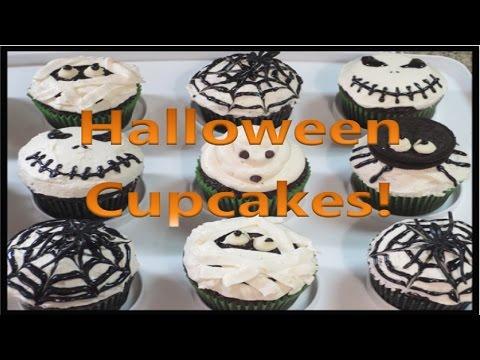 5 Easy Halloween Cupcake Ideas!