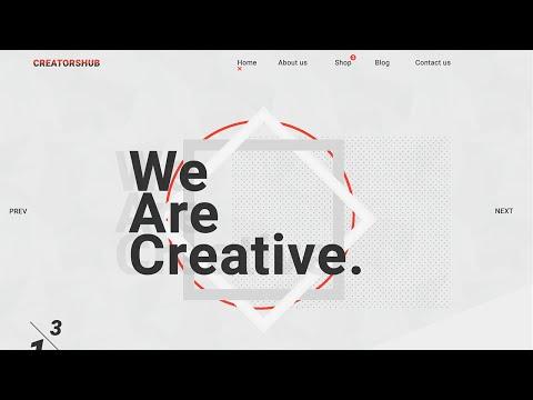 Web Design Speed Art - We Are Creative #01