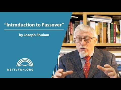 Introduction to Passover