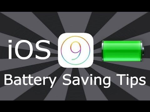 iOS 9 / 10 / 11 Battery Saving Tips For iPhone, iPad & iPod Touch
