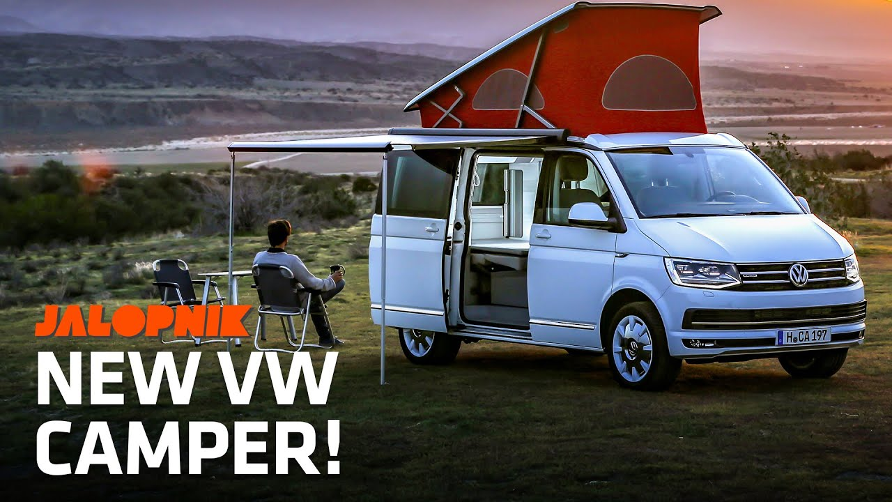 """Inside The Awesome New VW Camper """"California"""""""