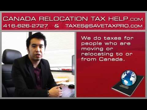 Getting tax back when leaving Canada & UK | 416-626-2727