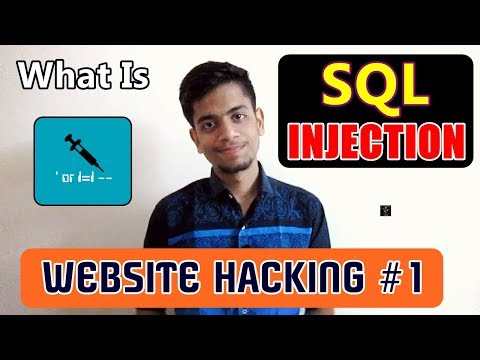 [HINDI] What Is SQL Injection? | Website Hacking #1 | Mechanism and Threats Explained