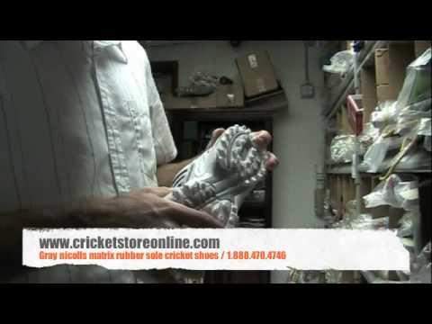 Gray Nicolls matrix rubber sole cricket shoes