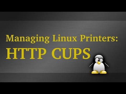 Manage Linux Printers Via Web Interface