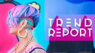 ☂ Trend Report: Glitter Freckles, Geometric Undercuts  + more