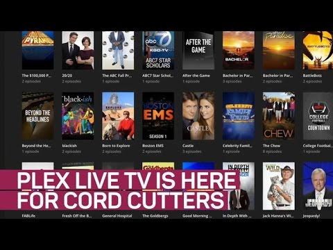 Plex Live TV is here for cord cutters