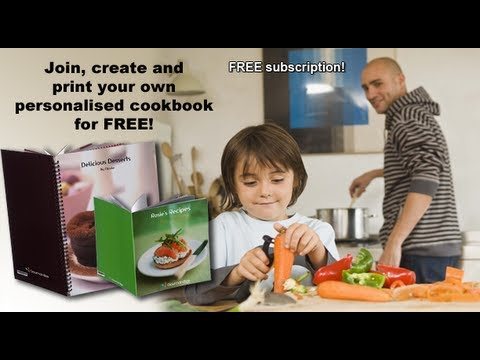 How To Create Your Recipe Book