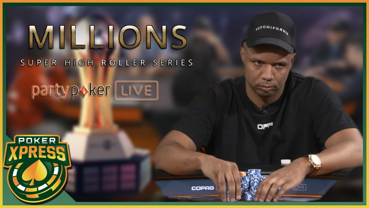 Phil Ivey 's ROAD TO VICTORY!  - 2020 MILLIONS Sochi SHR $50k SD Event #7