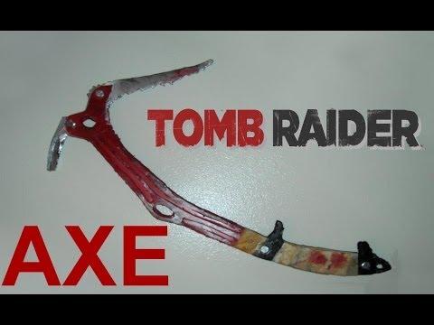 Tomb Raider 2013 Climbing Axe (How to make tutorial)