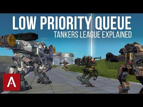 War Robots Guide: Low Priority Queue (Tanker's League)