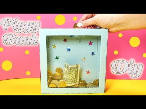How To Make Piggy Bank - Easy Craft Projects