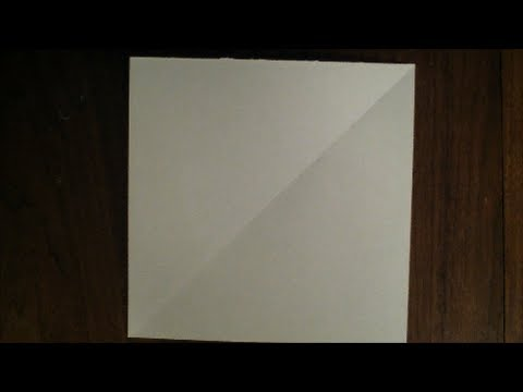 How to make a Square Piece of Paper from a Rectangle one