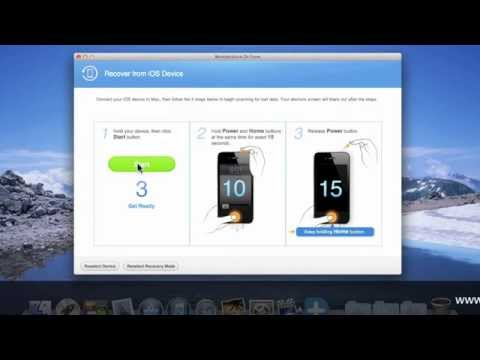 How to recover lost Photo Stream from iPhone4 without itunes backup on Mac