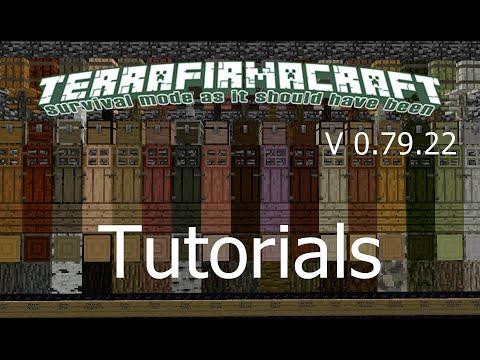 TerraFirmaCraft 0.79.22 Tutorial - Werkzeuge aus Barren [Deutsch]