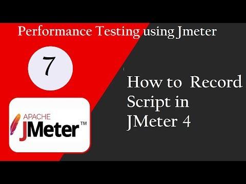 JMeter 4 0: How to record scripts in JMeter 4 [Call/Whatsapp: +91