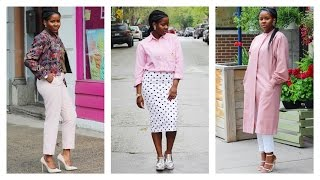 HOW I STYLE PASTEL PINK | SPRING LOOKBOOK